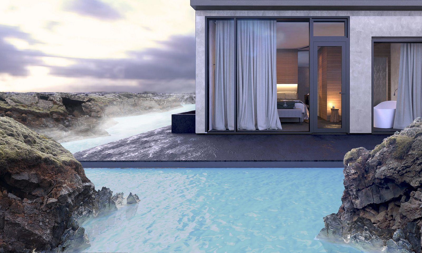 Hotel in Blue Lagoon Islanda