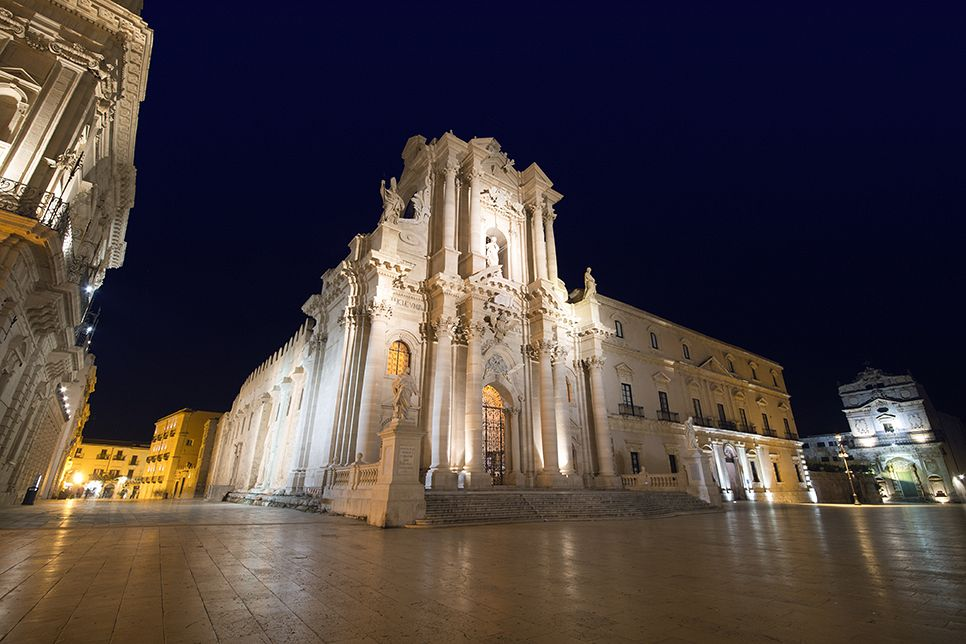 Sicilia Syracuse Teatrul grec