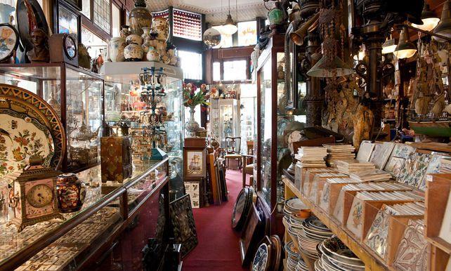Magazin cu antichitati